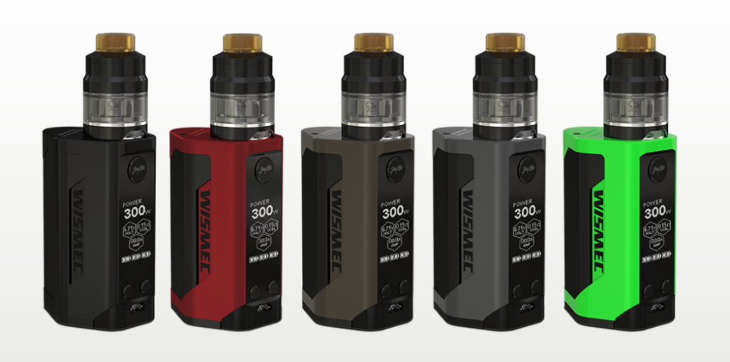 This is Wismec Reuleaux RX GEN3 Kit