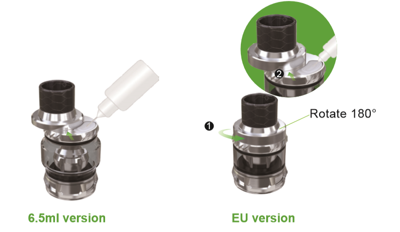 Vate Atomizer Refilling system