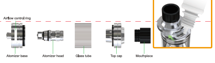 Eleaf ECM Atomizer Overview