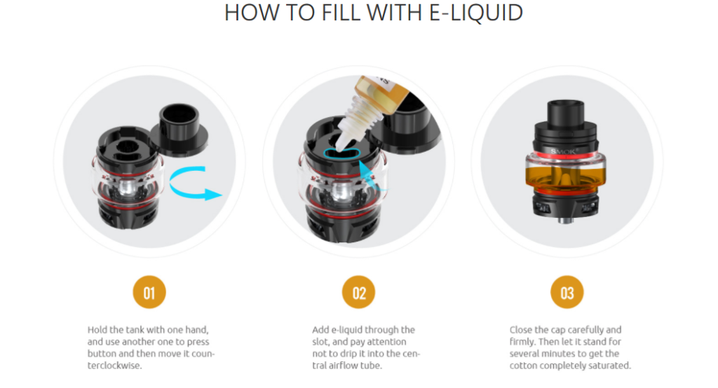 SMOK Stick V9 Max Manual - Instructions/Problems