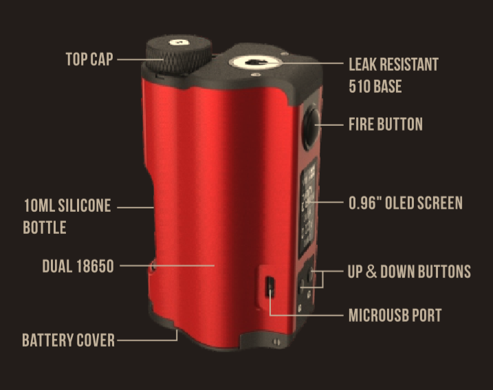 DOVPO Topside Dual Squonk Manual-Intructions/Problems