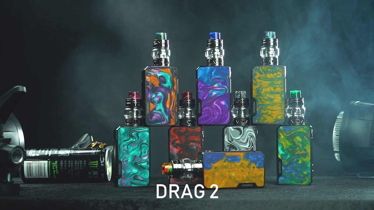 VOOPOO Drag 2 Manual-Instruction/Problems - Vaper Club | E-Cigarette