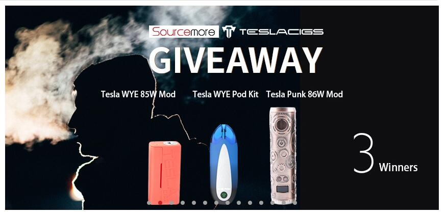 How to Get Free Teslacigs Vape? Come in! March 2019