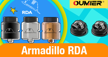 Oumier Armadillo RDA On Sale