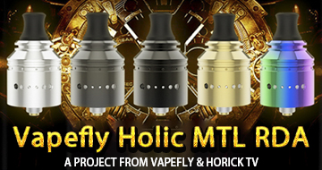 Vapefly Holic MTL RDA On Sale
