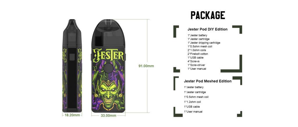 Vapefly Jester Pod Starter Kit