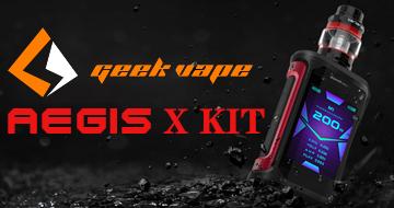 GeekVape Aegis X Kit
