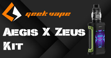 Geekvape Aegis X Kit with Zeus Tank