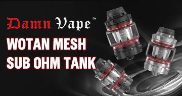 Damn Vape Wotan Mesh Sub Ohm Tank