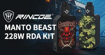 Rincoe Manto Beast 228W RDA Kit