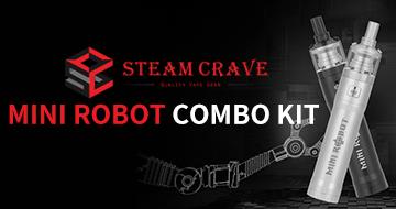 Steam Crave Mini Robot Combo Kit