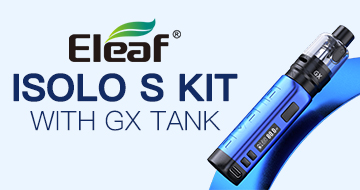 Eleaf iSolo S Kit with GX Tank