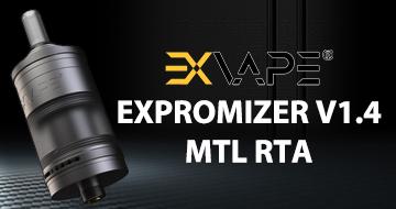Exvape Expromizer V1.4 MTL RTA